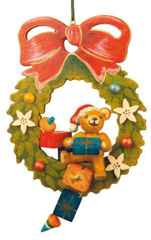 Teddy - Adventskranz (BB)