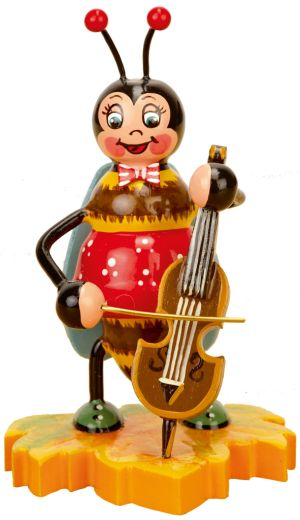 Hummel mit Cello